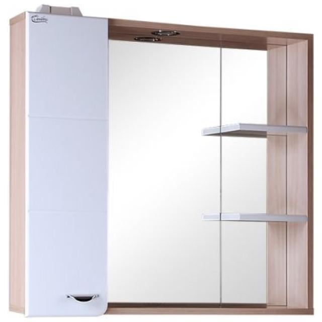 Шкаф-зеркало СТИЛЬ 75 см Левый
