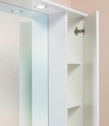 Шкаф-зеркало ЭЛЬБРУС 80 см Левый