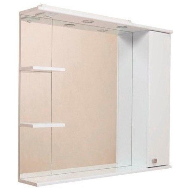 Шкаф-зеркало ЭЛЬБРУС 80 см Правый