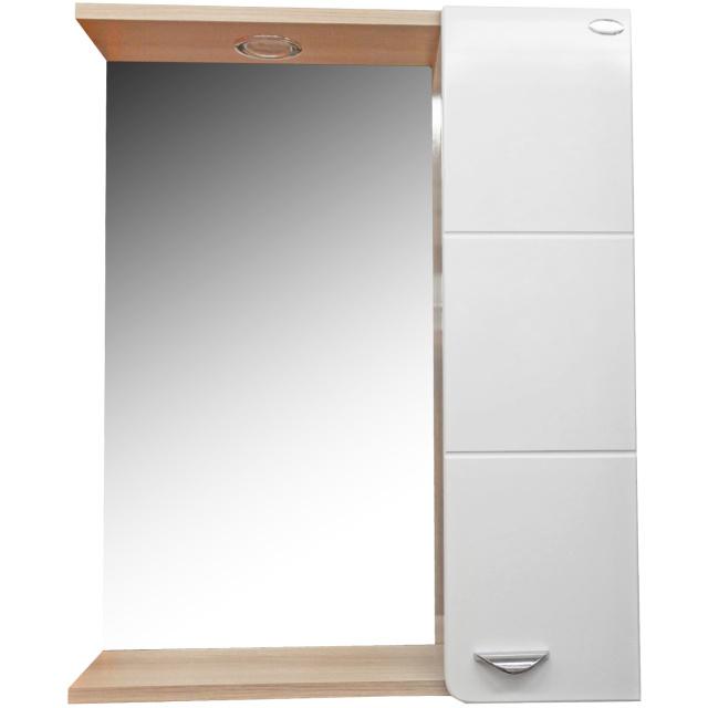 Шкаф-зеркало СТИЛЬ 58 см Правый