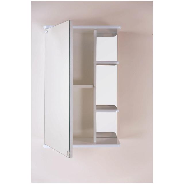 Шкаф-зеркало КАРИНА 55 см без подсветки