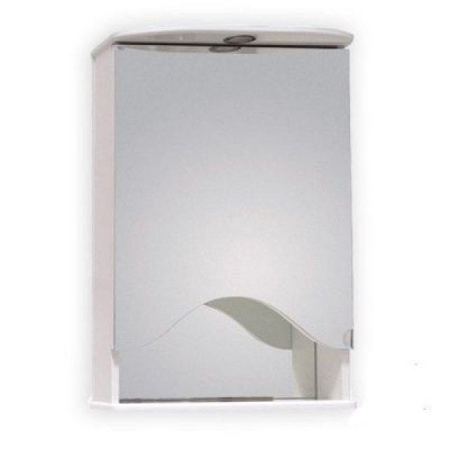 Шкаф-зеркало ЛИДИЯ 50 см Правый